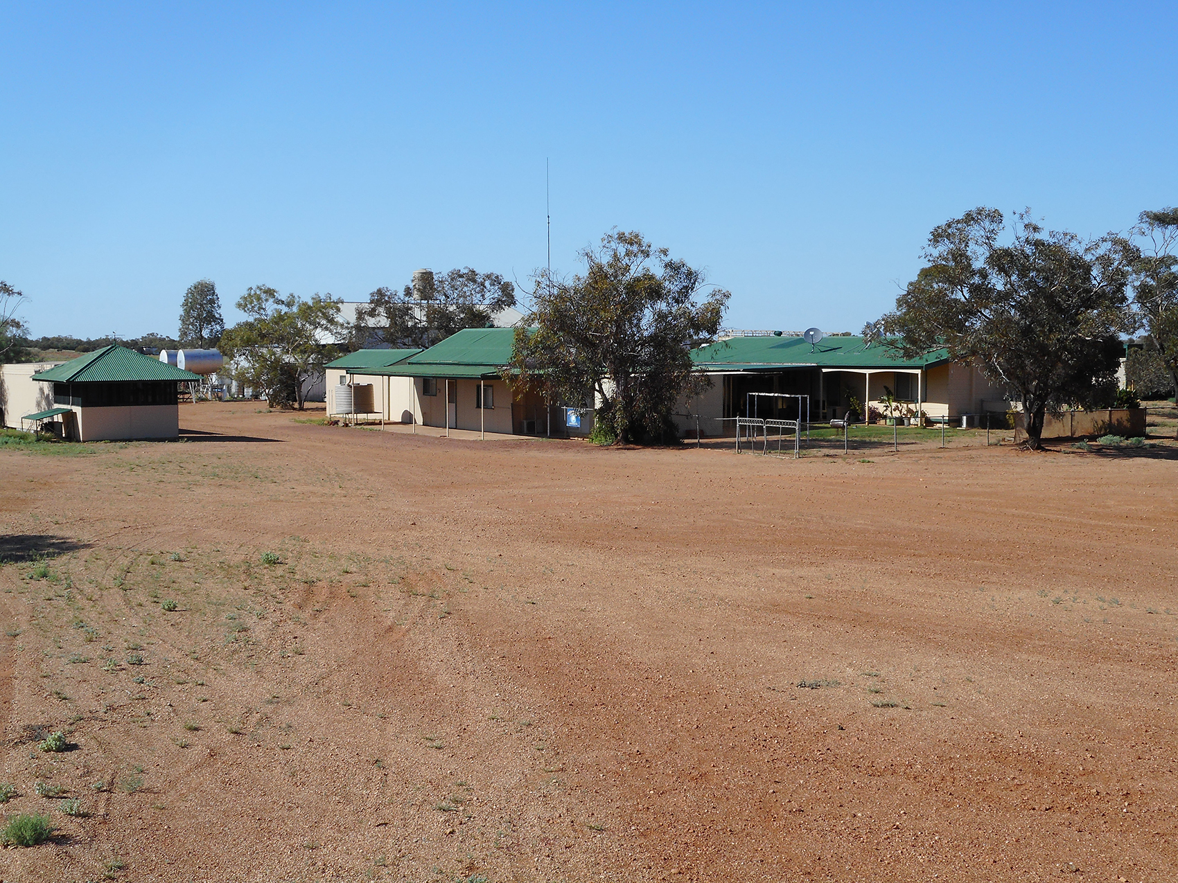 Homestead: Mt Barry Station