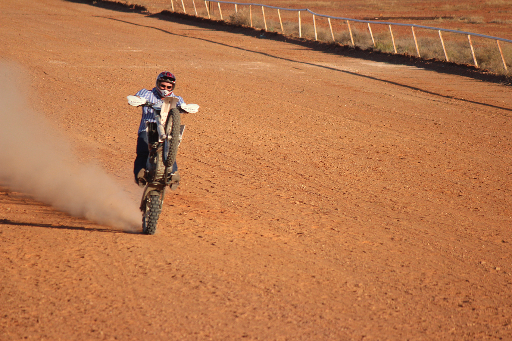 Mono motorbike event: Oodnadatta Races and Gymkhana