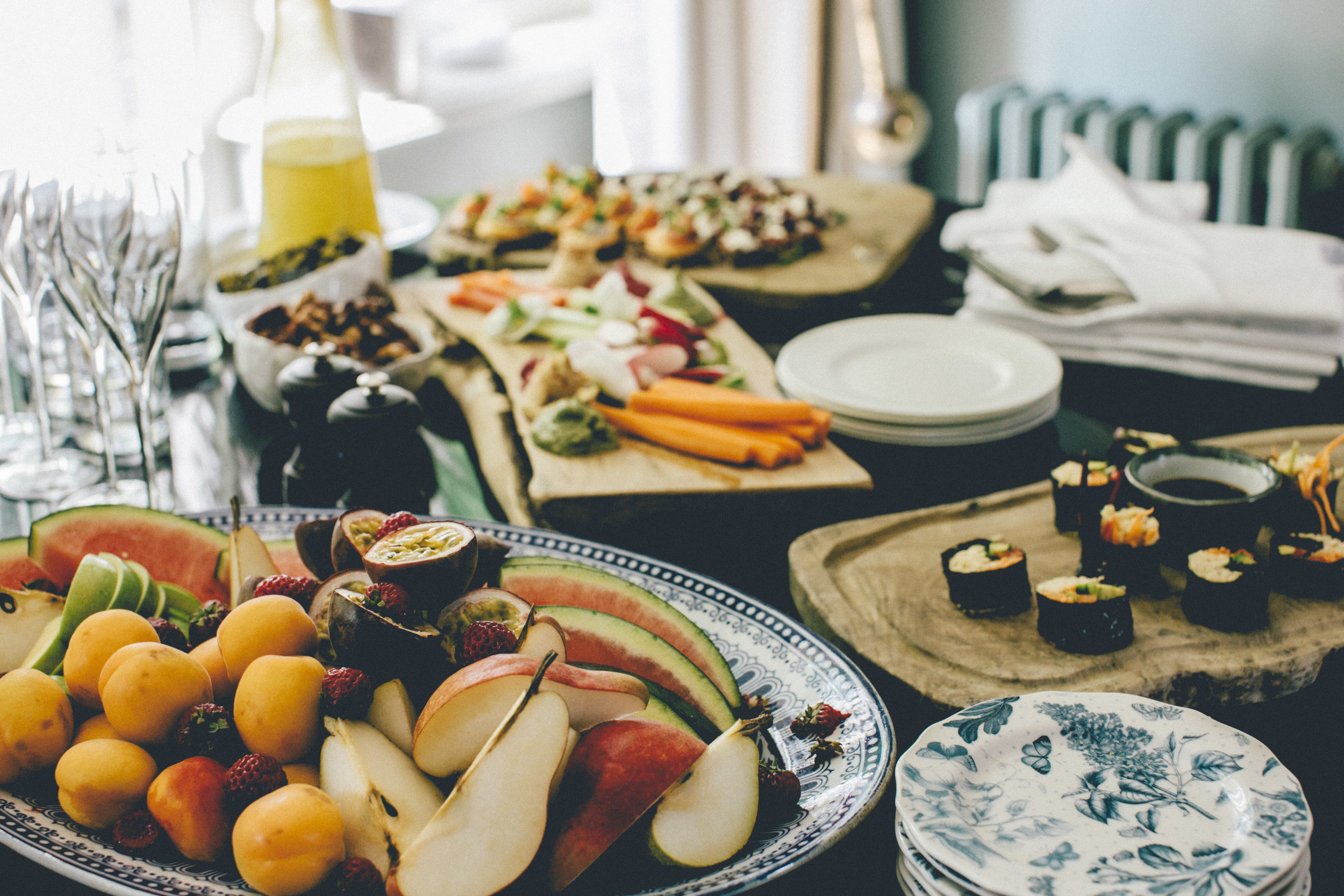 Catering - I use local organic when available with the highest quality of food and service for your special event. Private dinners, weddings, multi-course meals, fundraisers, etc…. Let me bring the fine dining to you!