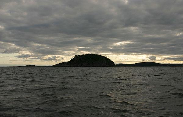 Högbondens naturreservat, sailing the Höga Kusten
