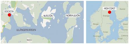 Where is Docksta in Sweden?