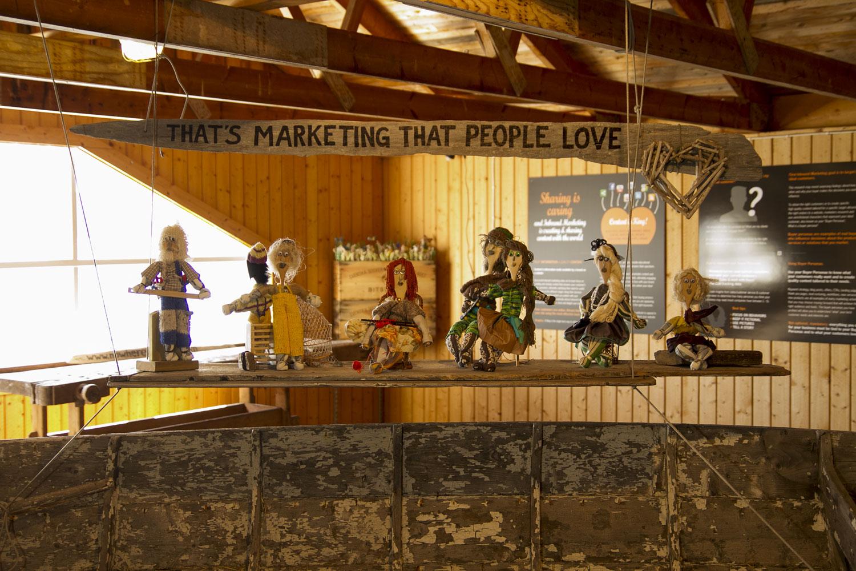 What's Marketing that People love? Inbound marketing Exhibit