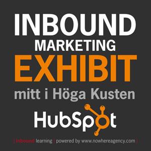 Inbound Marketing Exhibit mitt i Höga Kusten - playbill