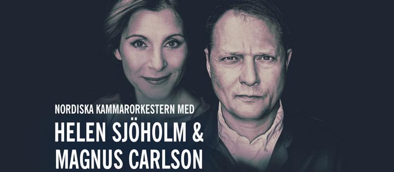 Helen Sjöholm & Magnus Carlson in concert at Skuleberget, Docksta