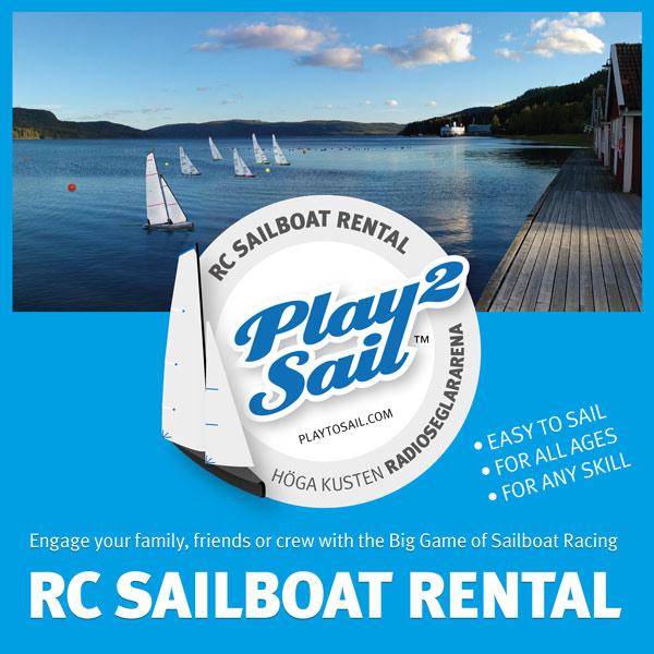Play 2 Sail: Rent a rc sailingboat at Docksta Havet Base Camp