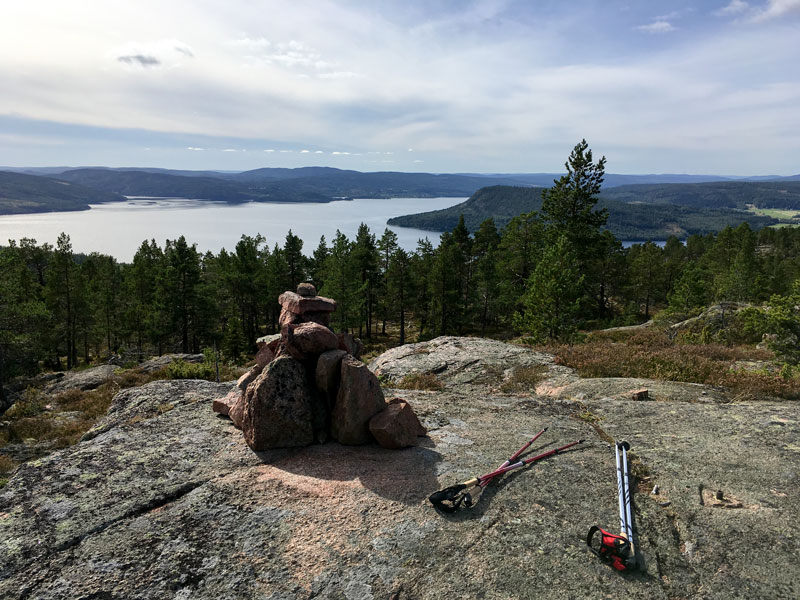 Vårdkallberget has one of the most breathtaking views of the High Coast