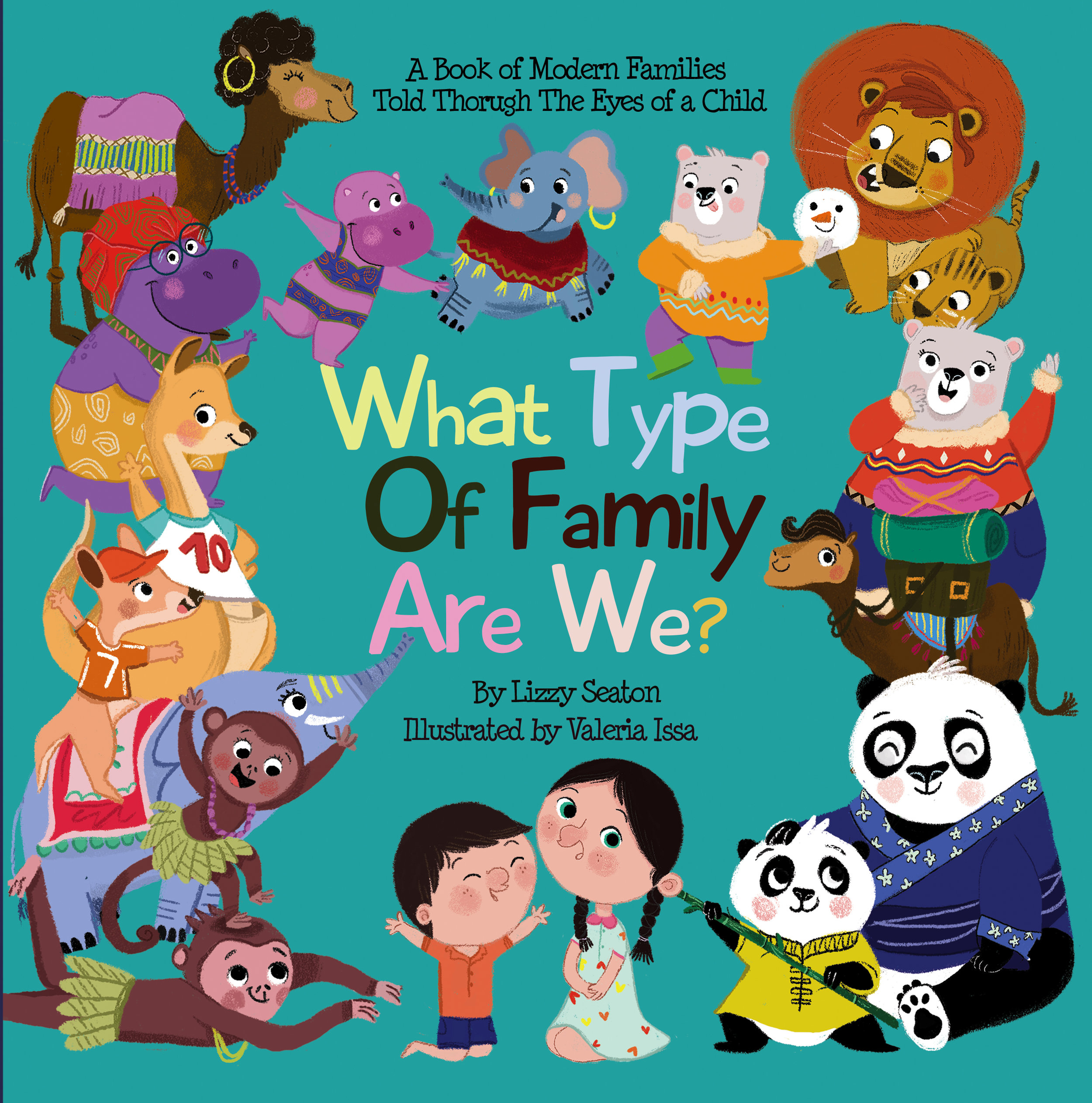 Have you ever wondered if there are other families like YOURS?Come take a journey with ELLA and OLIVER to discover the many shapes and sizes families come in today! -