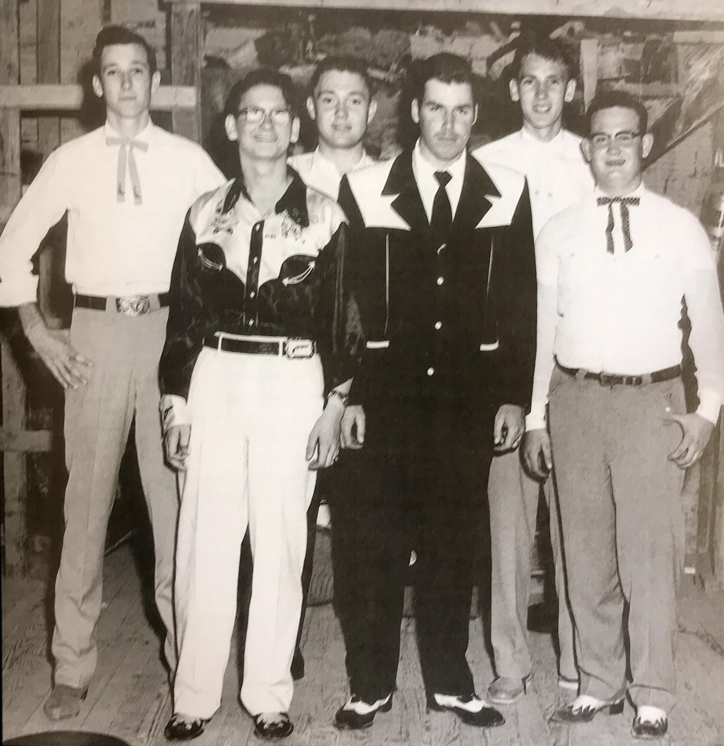 Roy is second from the left