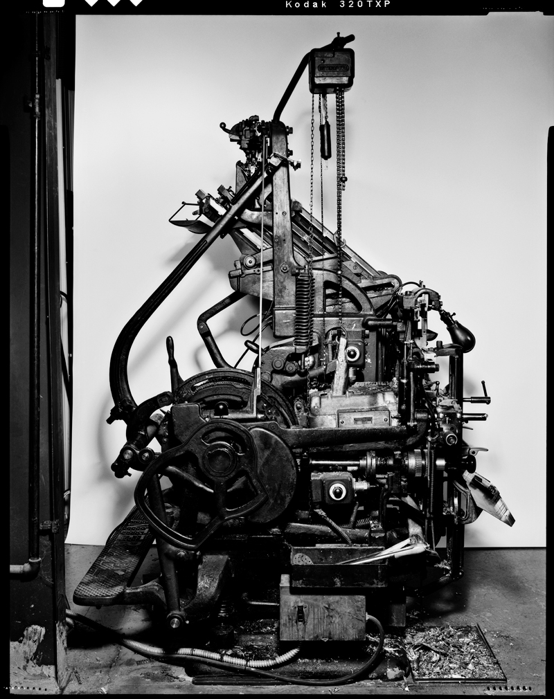 Our Intertype C4 photographed by Craig Cutler