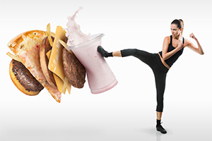 Use hypnosis to break the fast food habit and achieve your weight loss and health goals