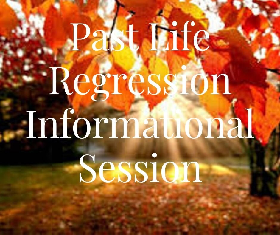 Past Life Informational Session 1 Hour -