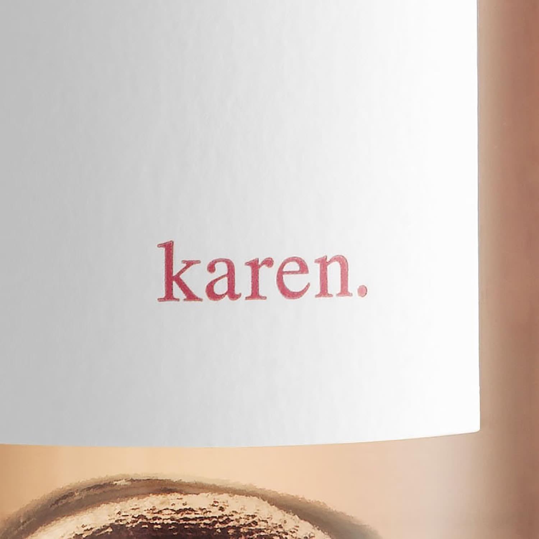 karen. wine