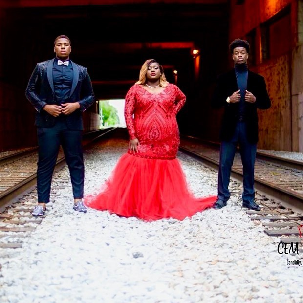 Strike a pose! ❤️👑#promqueen #littlereddress #plussizefashion #bodypositive #blackgirlmagic #lovethyself #promdresses