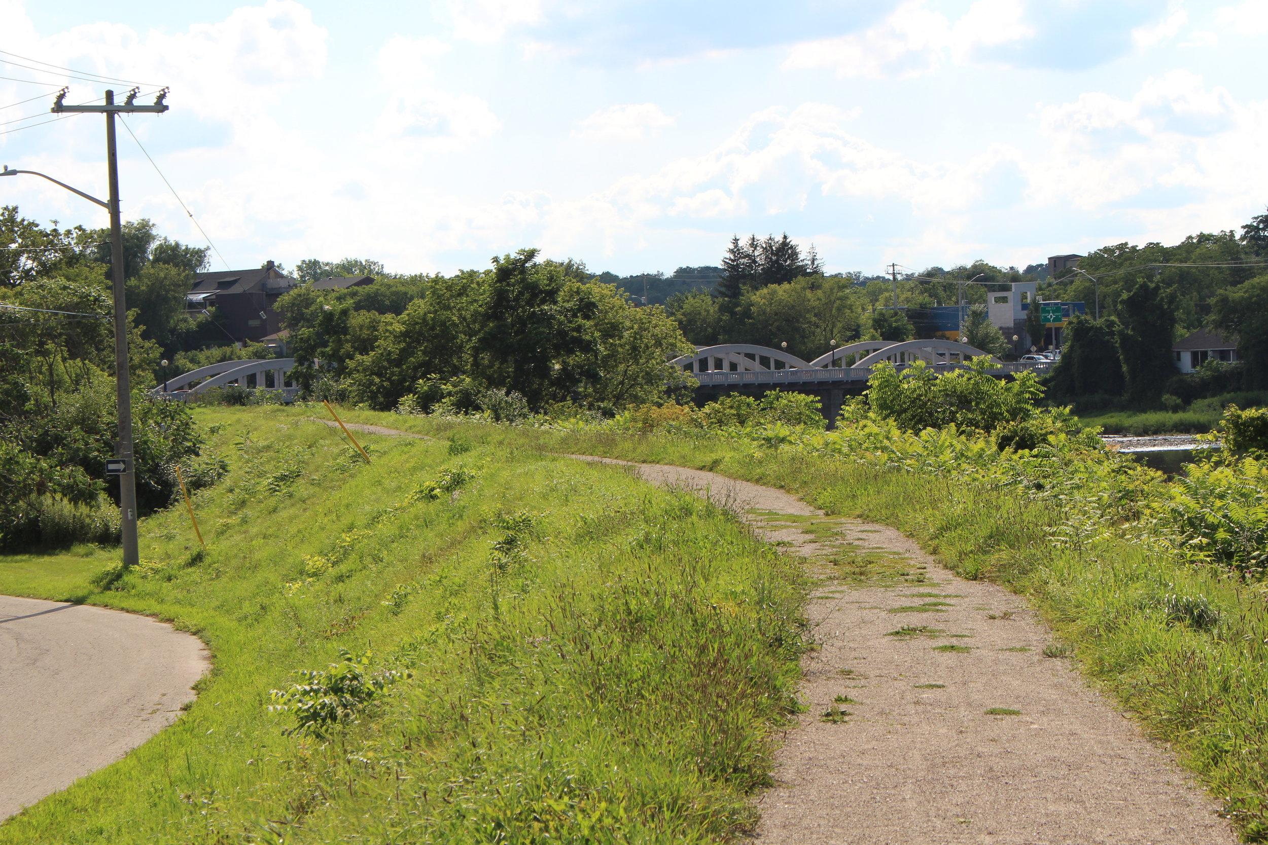 View of the Bridge St. Bridge