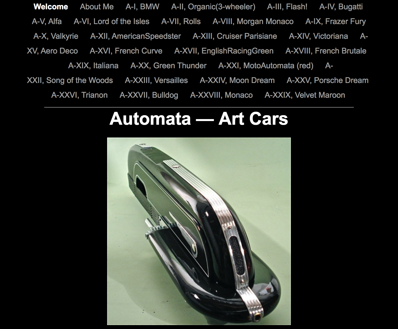 Automata — Art Cars