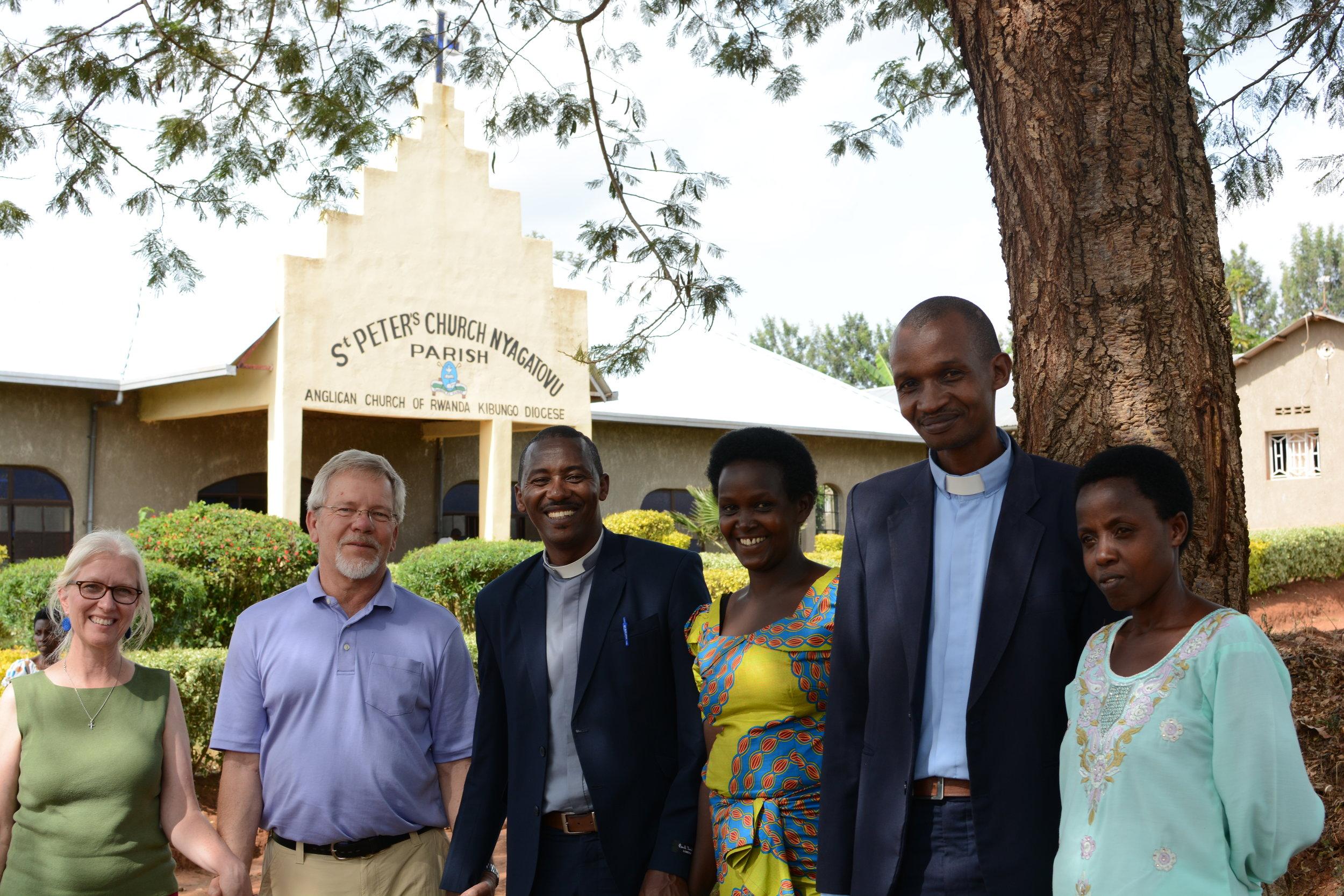 Terri & Steve Moon, Pastor Nathan & Esperance, and Pastor Xavior & Naome