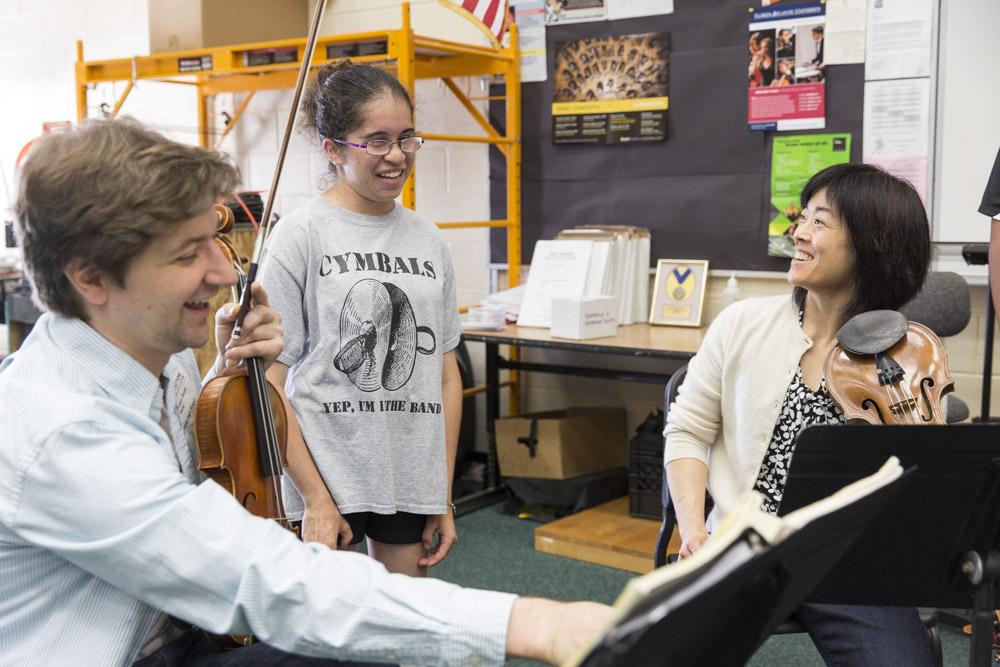 Ying Quartet at Sarasota High School