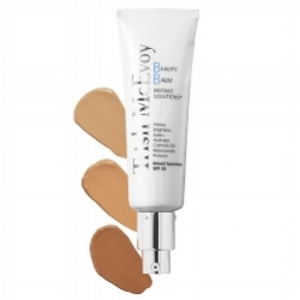What it is:     An all-in-one skin perfecter that instantly primes, brightens, evens, hydrates and controls oil. Rejuvenating peptides improve skin's texture quality over time while SPF helps prevent sun damage. Worn under foundation or alone, it minimizes shine and delivers a look of healthy, natural coverage with a velvety finish.