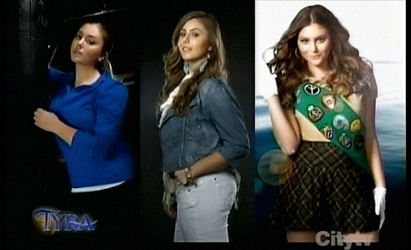 From left to right: Activewear shoot, Torrid shoot, Fergie shoot