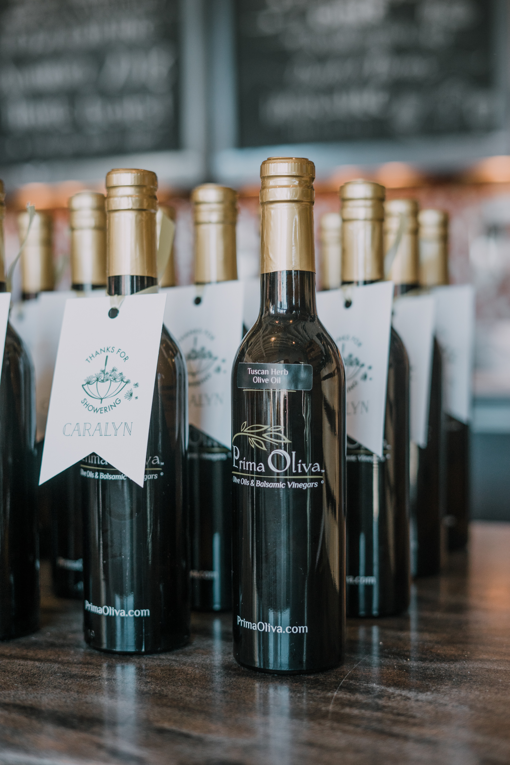 Olive Oil from  Prima Oliva  Gifting Tags By  For Your Party