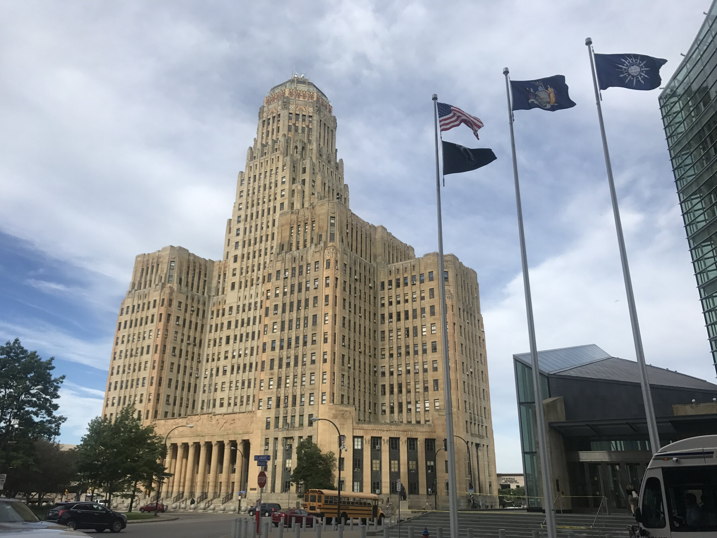 one of my favorite spots to take photos, Buffalo City Hall