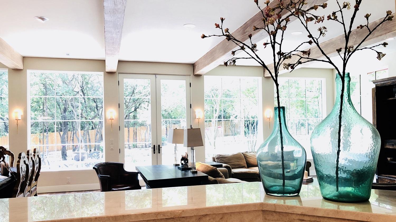 Open Floor Plan Living Room View