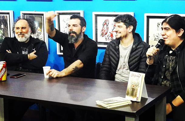 Alberto Fasce, Gonzalo Ventura y Rubén Risso