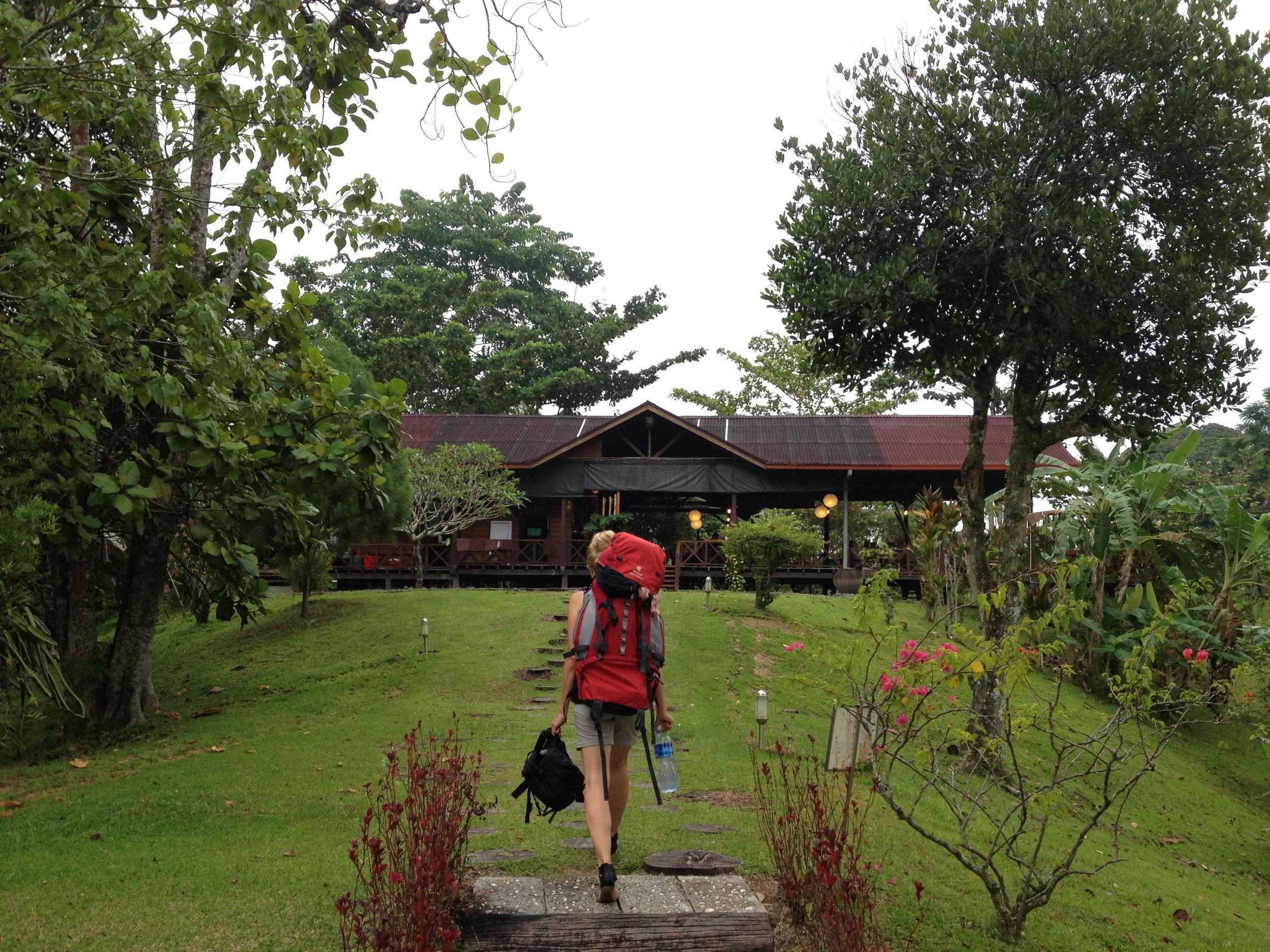 Eine schöne Erinnerung an einen Urlaub auf Borneo