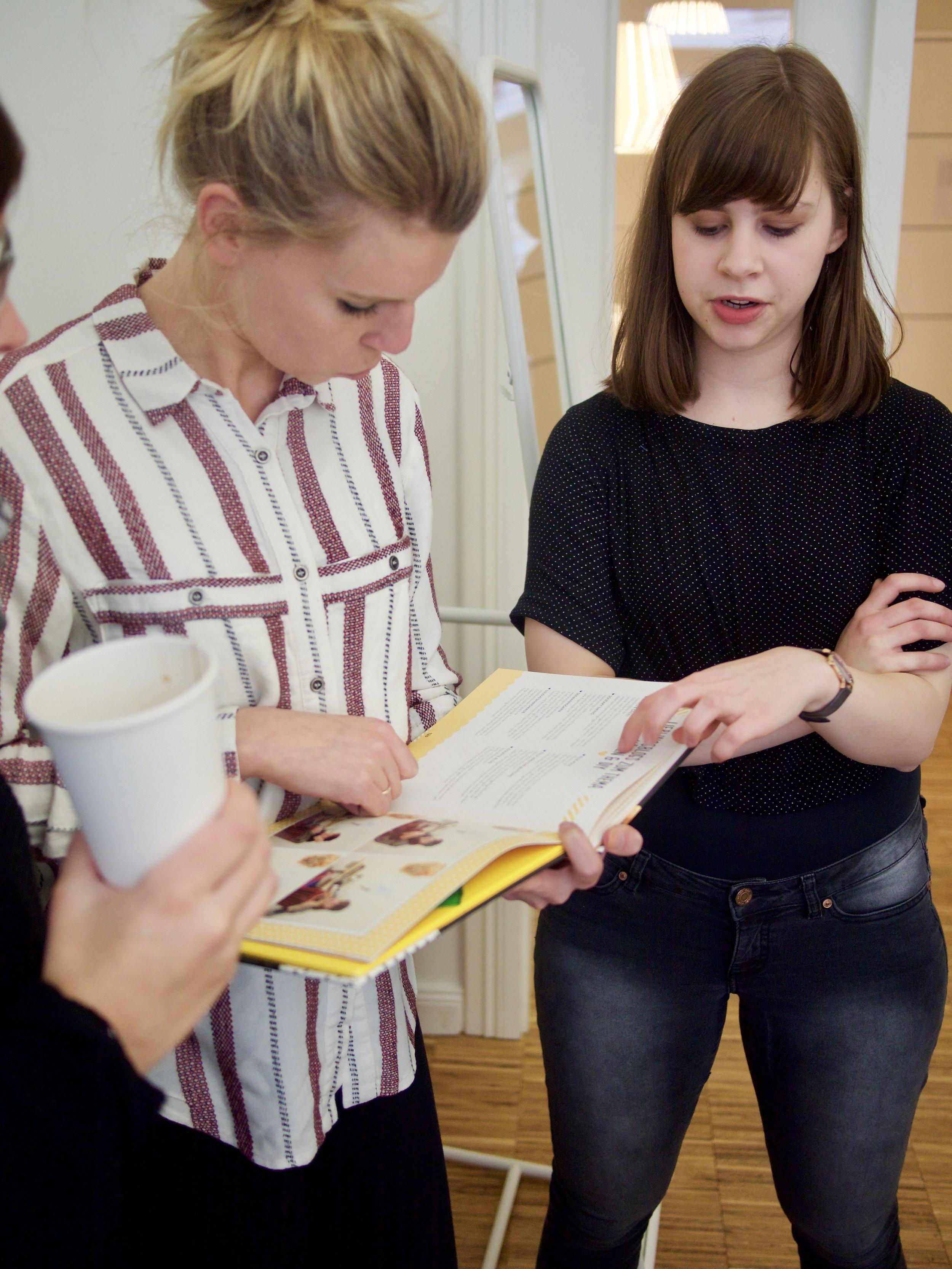 Meet & Sew in Berlin, 12 letters of handmade fashion, Kira von thecouture, Fredi von Seemansgarn