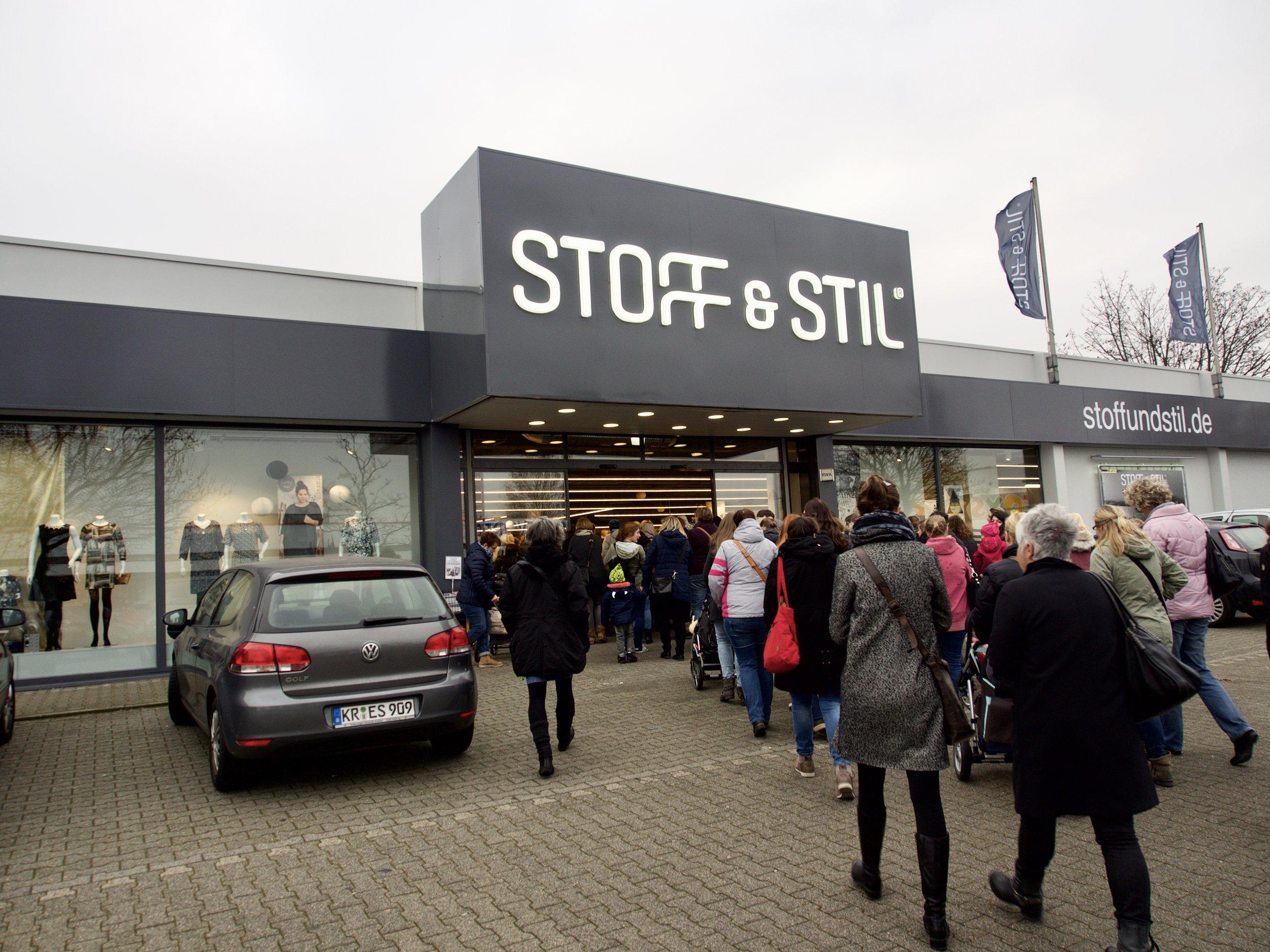 Stoff und Stil Eröffnung Dortmund