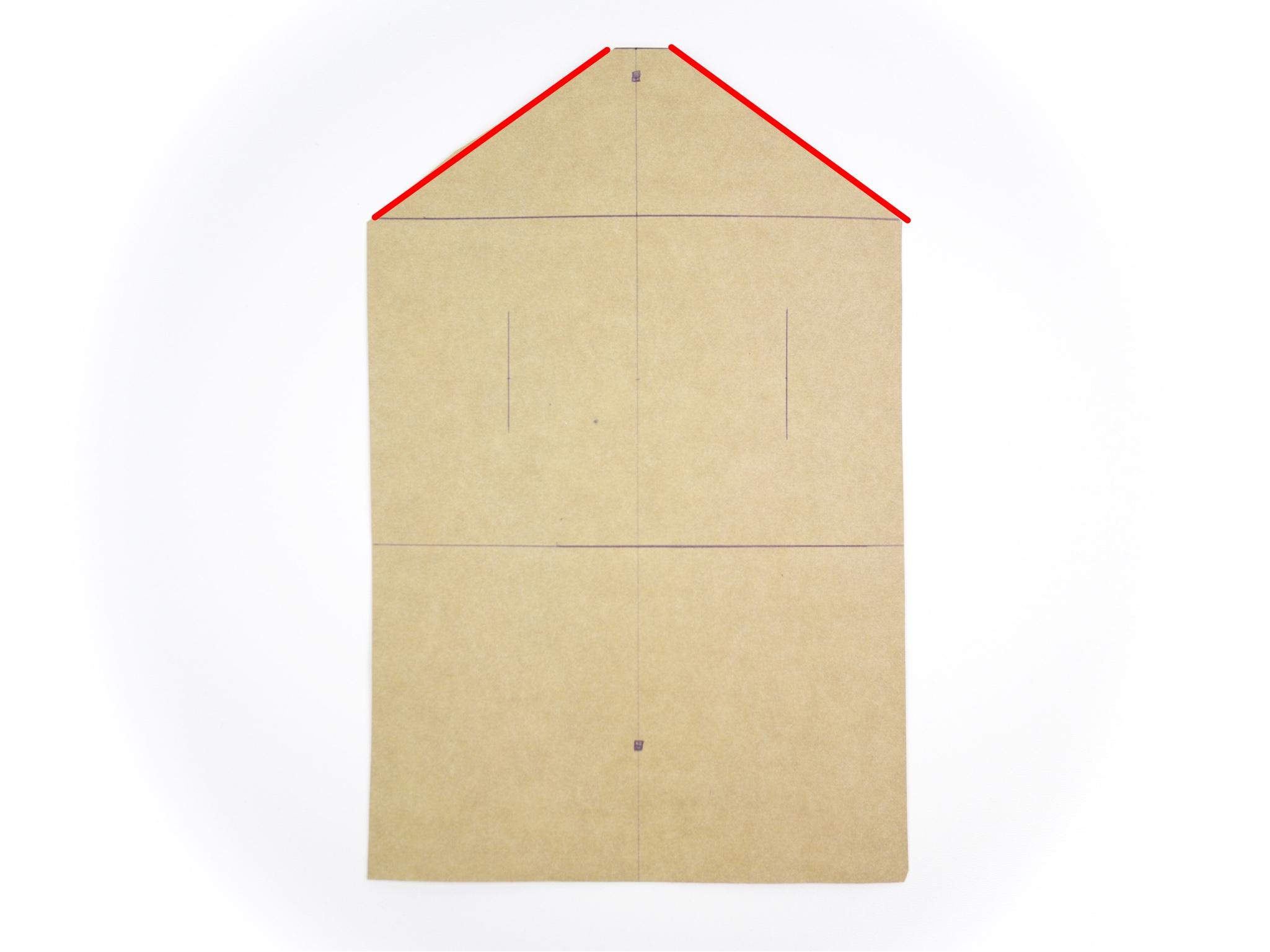 - Zeichnet jetzt die Diagonale ein.