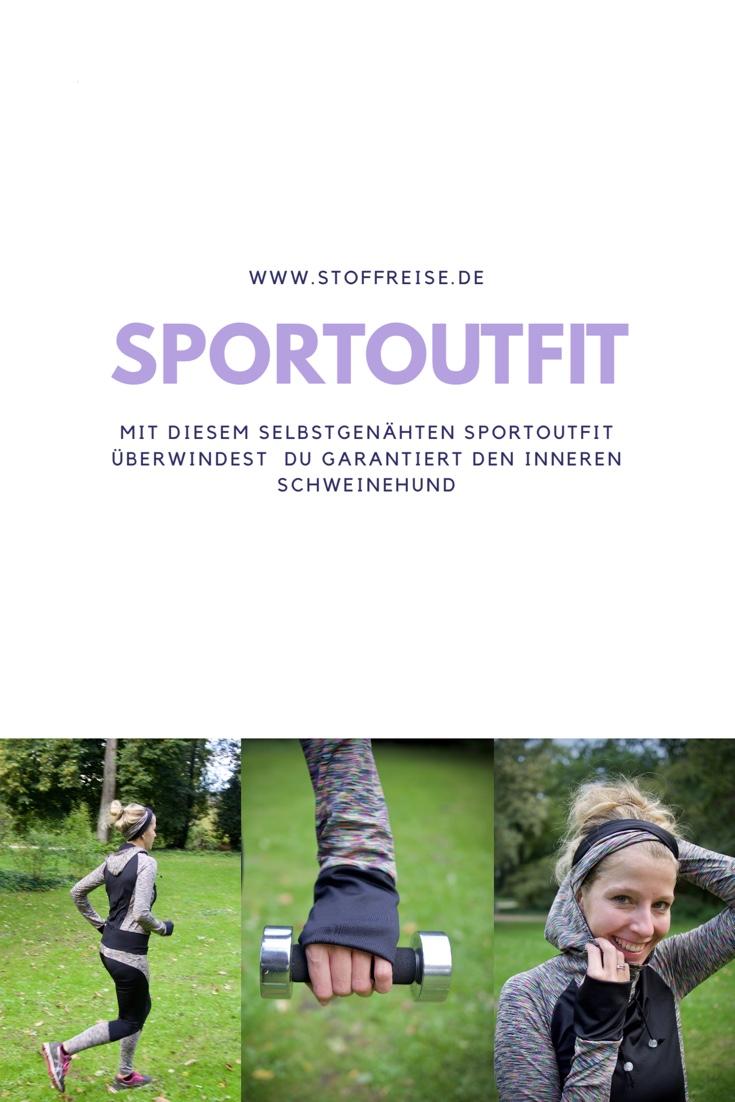 Sportoutfit nähen mit Stoffreise von Kibadoo