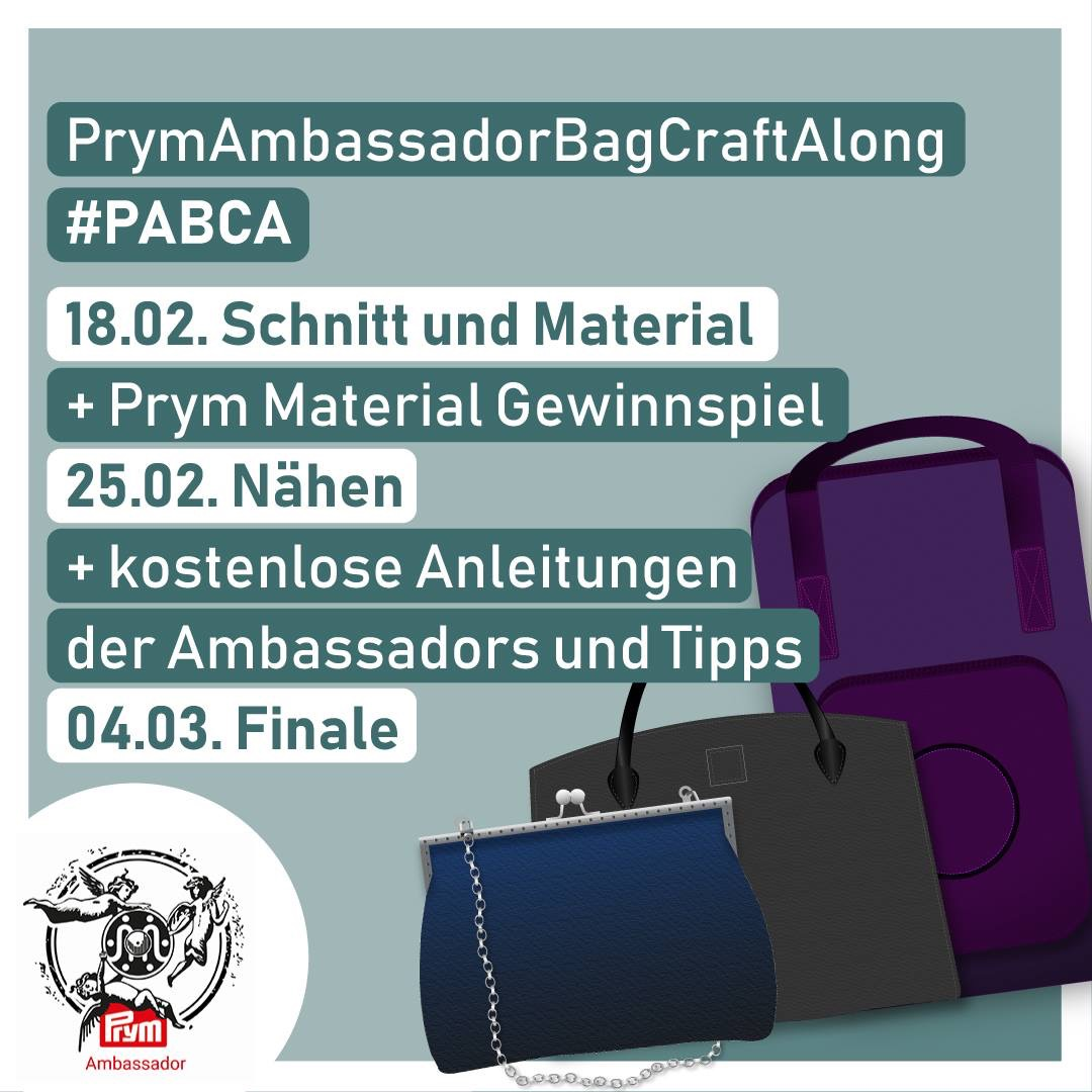 Prym Ambassador Bag Craft Along