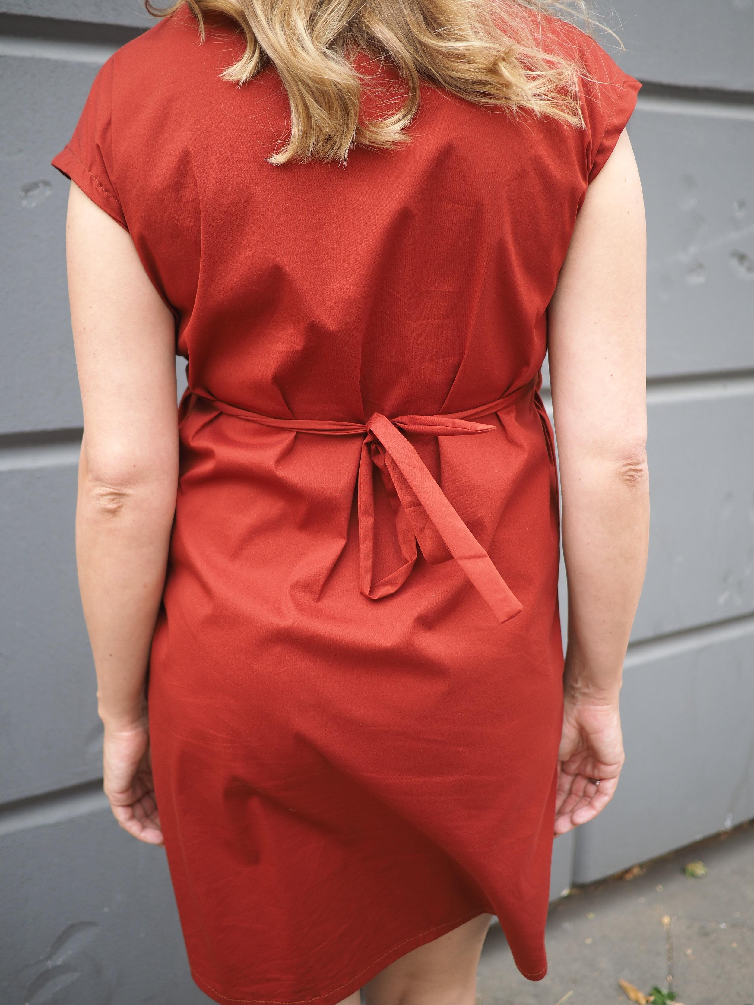 Schwangerschaftskleidung nähen/ Kleid burda style 01/2015