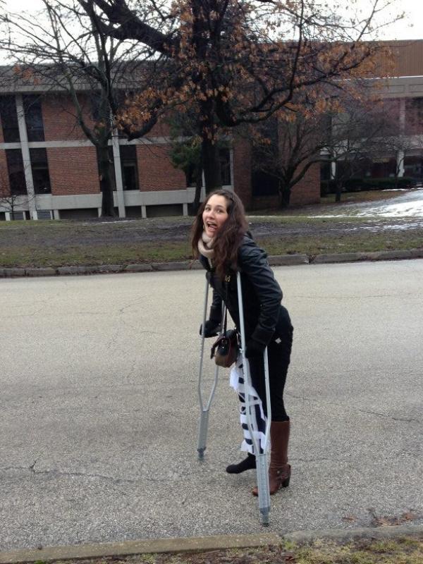 Ya girl was seriously injured!