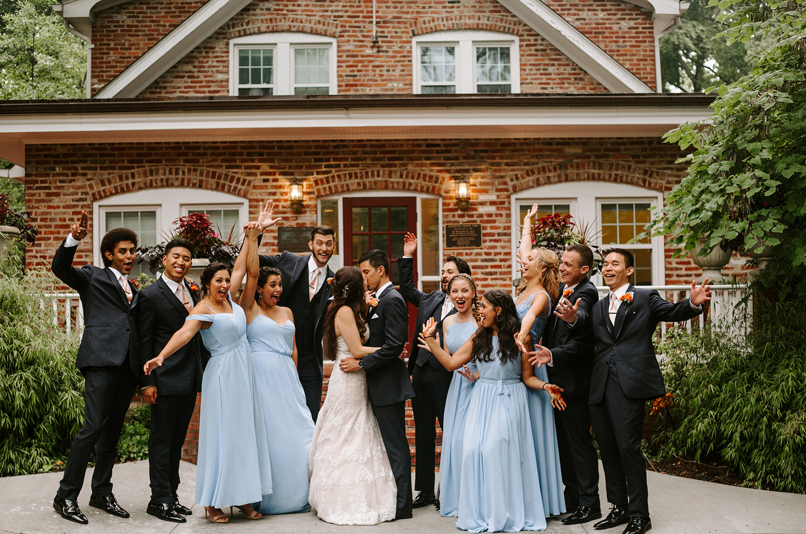 All of our wedding party!