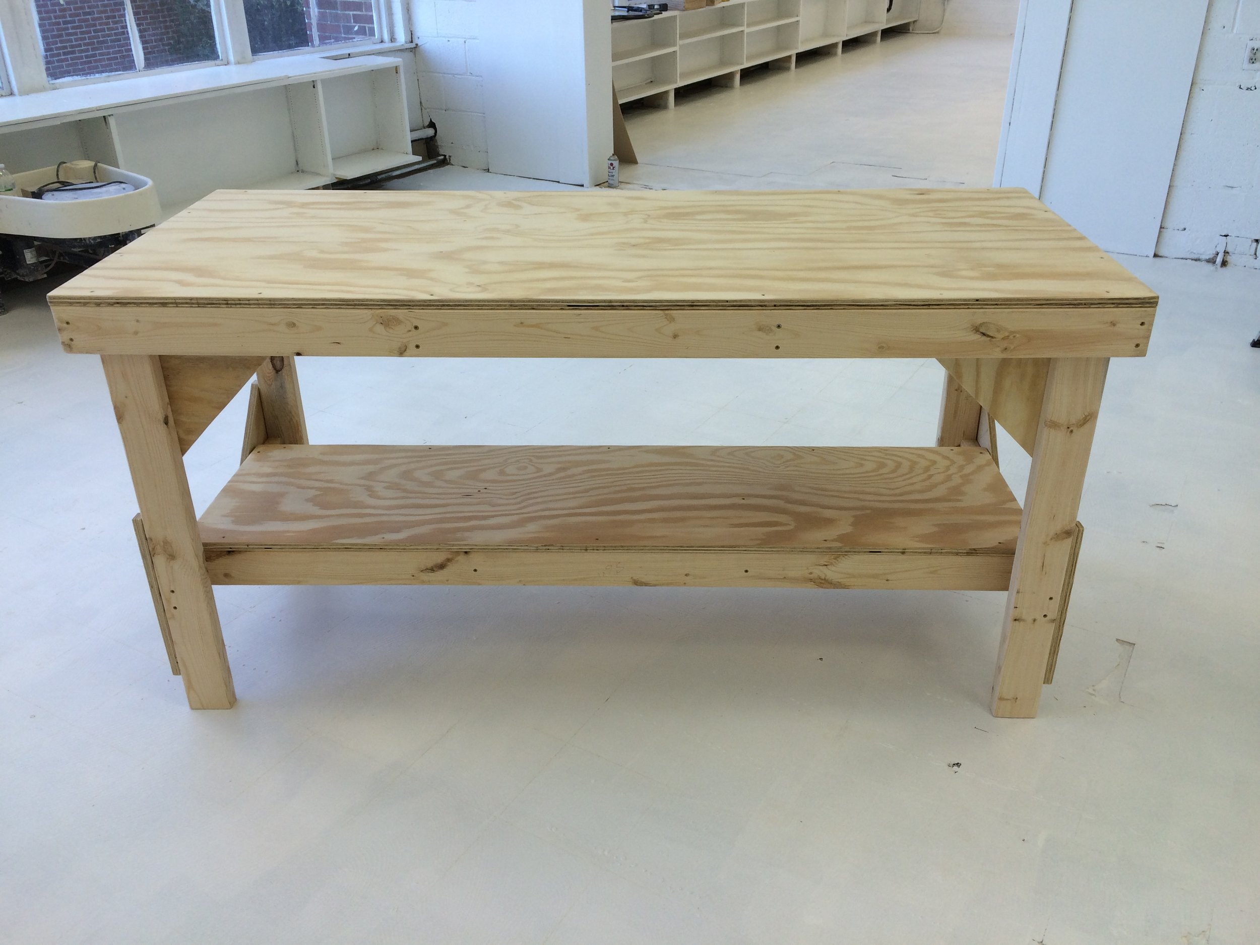 Pottery Work Table - A sturdy