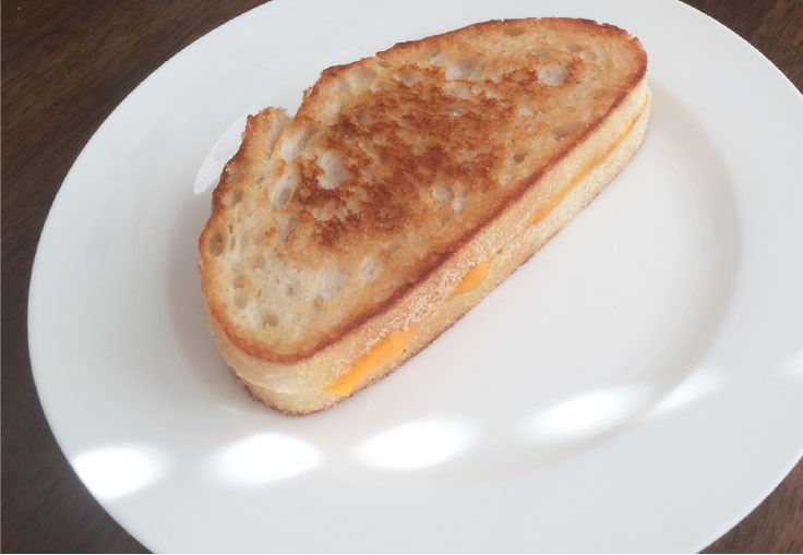 Vegan Cast Iron Grilled Cheese Sandwich – www.gracewithhumility.com