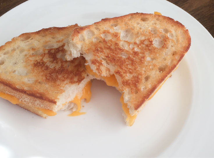 Plant Base Iron Skillet Grilled Cheese Sandwich – www.gracewithhumility.com