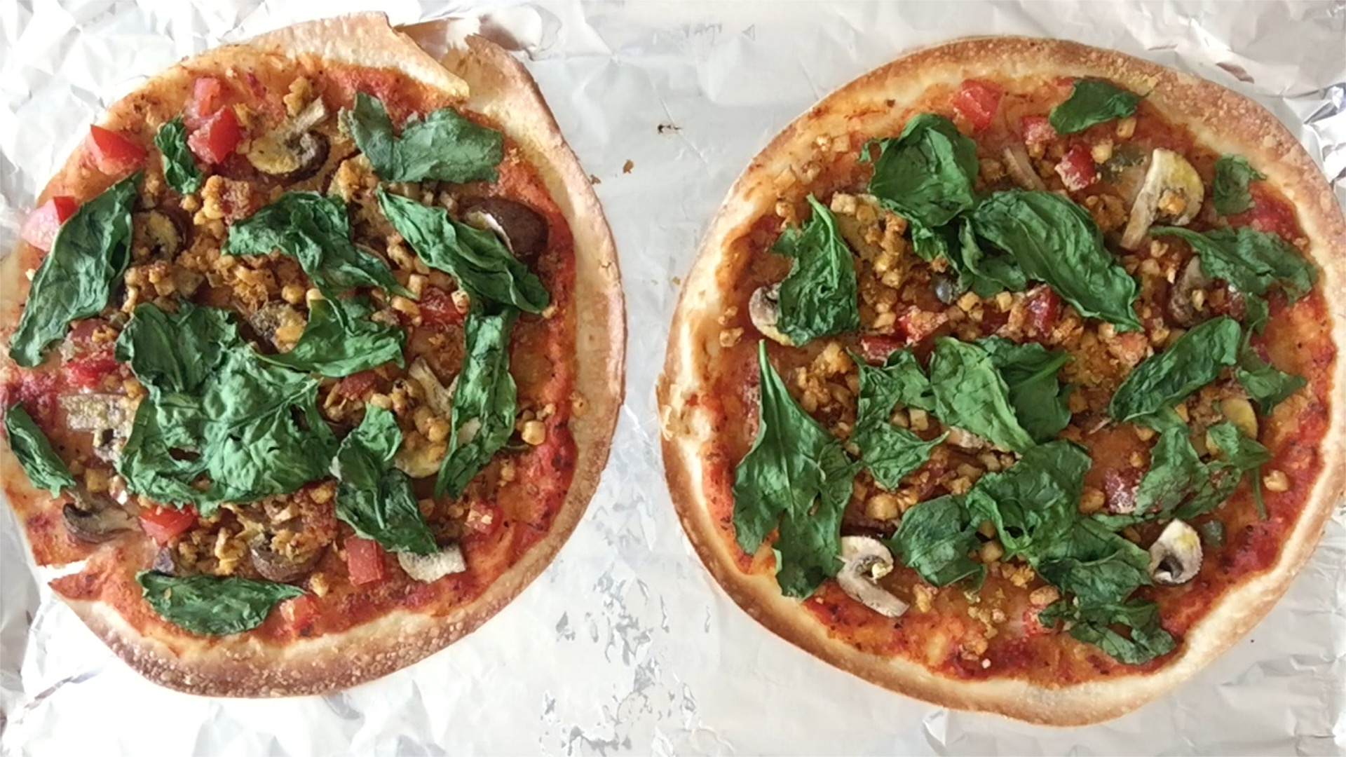 HOmemade, vegan pizza – www.gracewithhumility.com