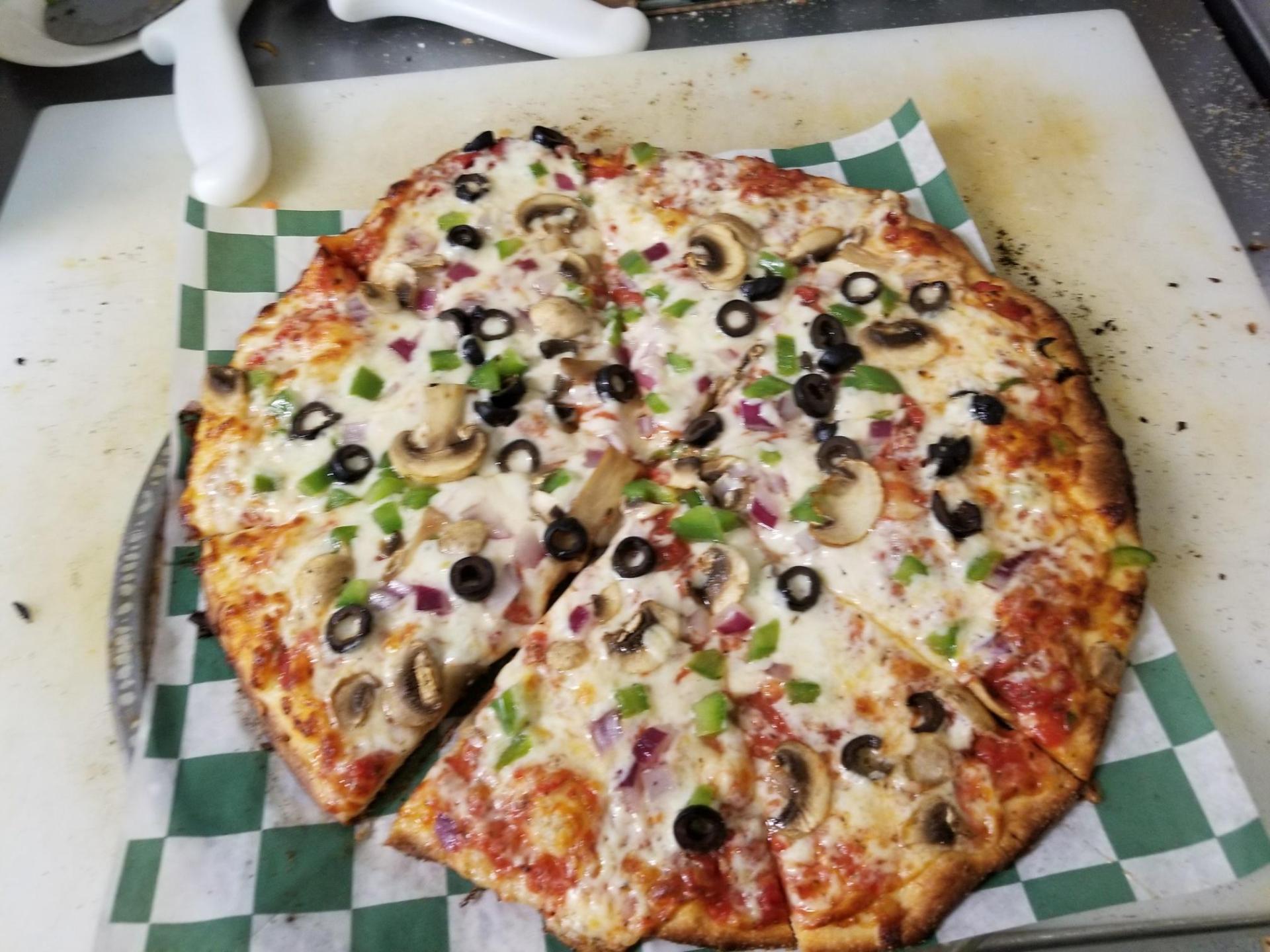 Veggie Pizza -