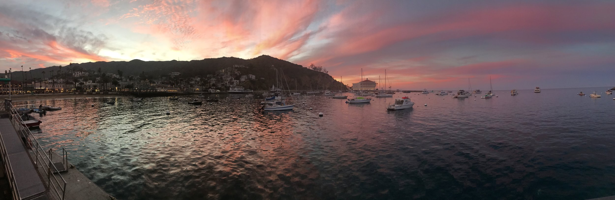 Catalina Island Sunset
