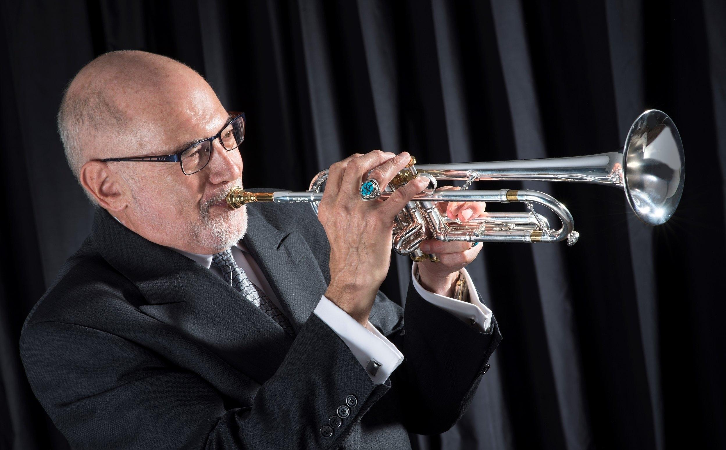 Mike Vax, jazz trumpet