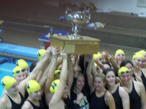I only swam a year, and skipped intramurals the rest of the time. But in all things... Beat Army. (We did).