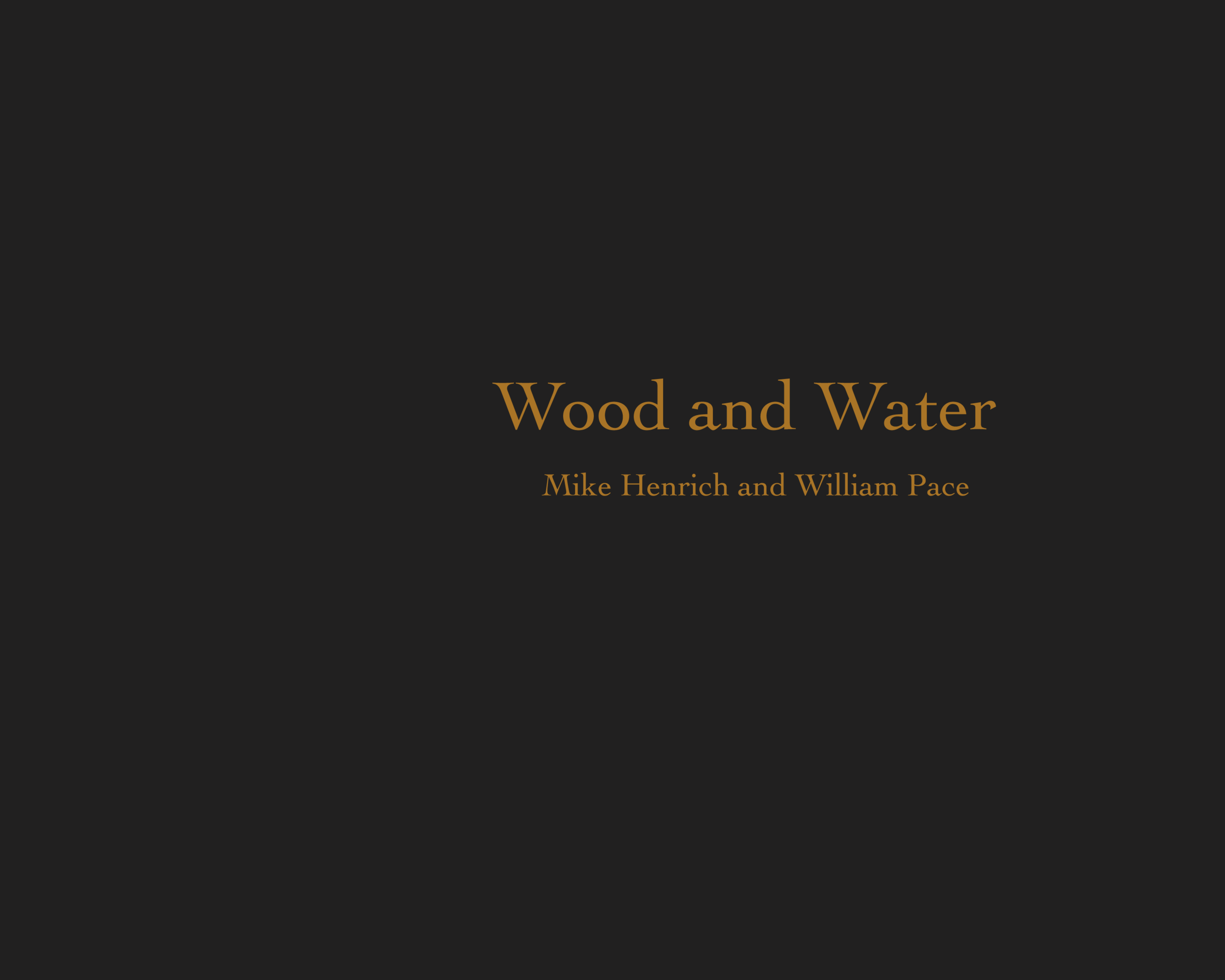 http://www.blurb.com/books/909519-wood-and-water