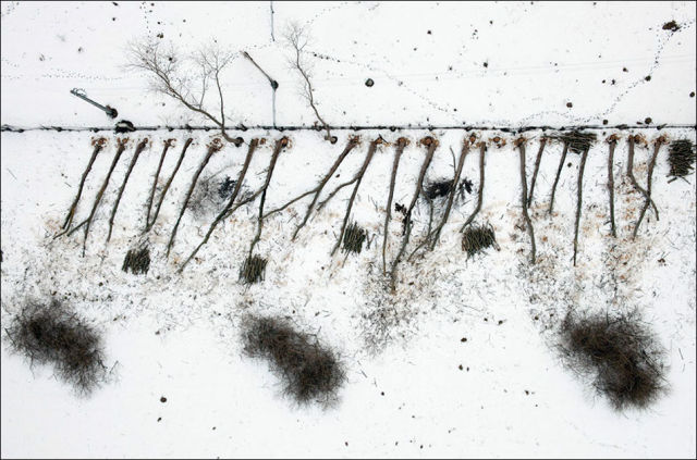 Kacper Kowalski - aerial photography