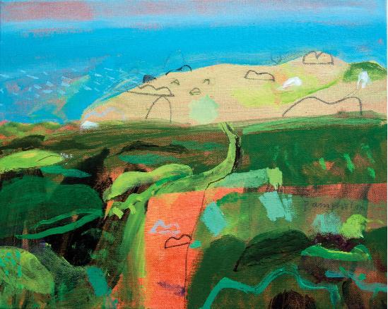 Elaine Pamphilon - Brilliant Day, Clodgy Point