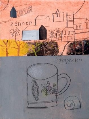 Elaine Pamphilon - Porcelaine Mug