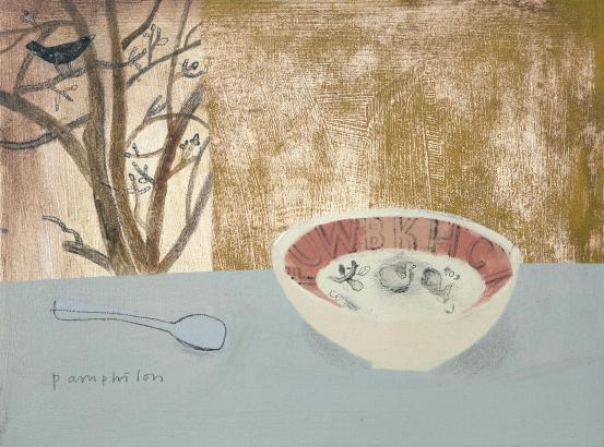 Elaine Pamphilon - Ravilious Bowl and Spoon