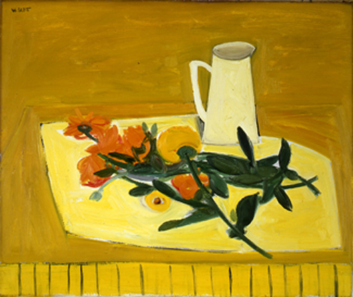 mapart.me:   William Scott - Flowers and a Jug